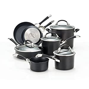 Best Cookware Set - Circulon Symmetry Hard Anodized Nonstick 11-Piece Cookware Set Review