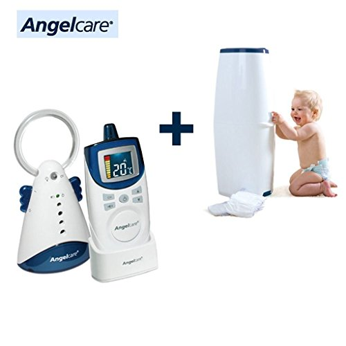 Angelcare Babyphone 420D + Diaper Pail Comfort Free front-511370
