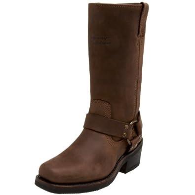 harley davidson s hustin boot brown 5 m