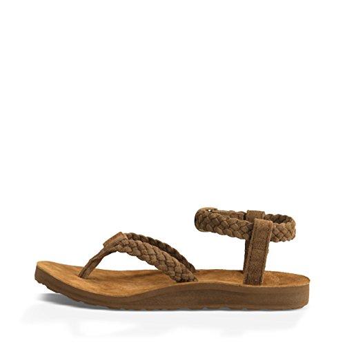 Teva Women's W Original Suede Braid Ankle Strap Sandal сандалии teva original universal sport bright white