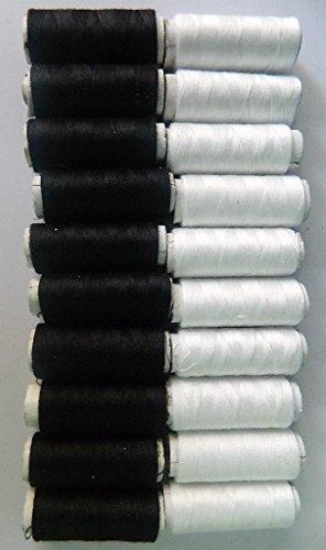 20-bobines-de-fil-10-noirs-10-blancs-a-coudre-couture-couturiere