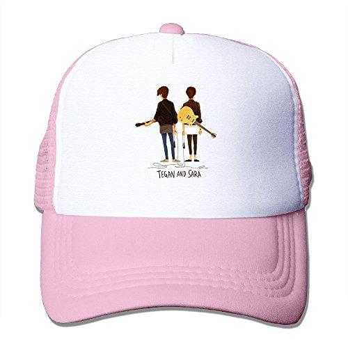 tegan-and-sara-canadian-indie-pop-band-mesh-adjustable-snapback-hats-brim-caps