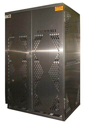 Securall LP12S-Vertical LP/OG Storage Cabinet - Alum. (Propane Tank Alum compare prices)