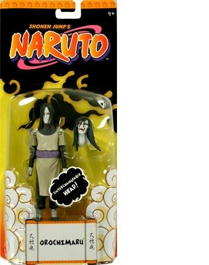 Picture of Mattel Naruto Basic Orochimaru Action Figure (5 Inch) (B000SNUSRE) (Naruto Action Figures)
