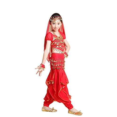 Pilot-trade Girl Belly Dance Halloween Costumes Professional Indian Dance Wear
