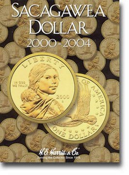 Harris Coin Folder - Sacagawea Dollars Folder 2000-2004 #8HRS2715