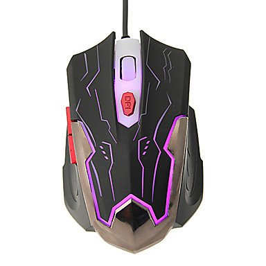 Mch- Kn-330 Shift Led High Definition Optical Wired Gaming Mouse(800/1200/1600/2400Dpi)