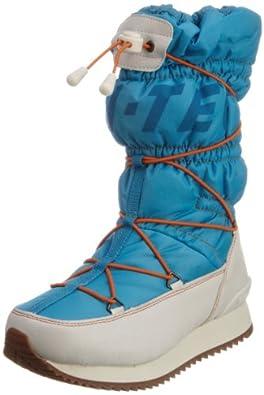 Hi-Tec New Moon, Women's Snow Boots, Hawian/White/Lemon/Lava, 4 UK