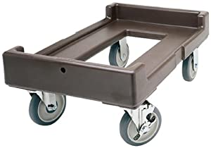 Cambro CD400-131 Camdolly Plastic Food Pan Carrier Cart, Dark Brown at Sears.com