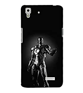 printtech Black Panther Super Back Case Cover for Oppo R7 Lite