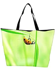 Snoogg Beatel In Yellow Designer Waterproof Bag Made Of High Strength Nylon - B01I1KGVWQ