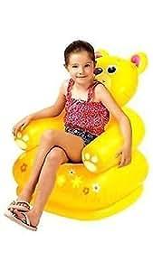 Intex Inflatable Pvc Animal Chair Yellow