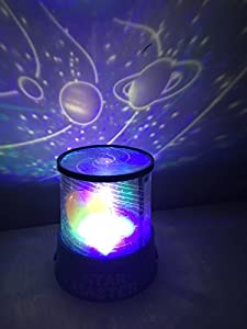 Aeeque Cosmos Led Light Projector Baby Night Light Relaxing Mood Master Projector Light Amazing Gift for Men Women Teens Kids Children Sleeping Aid by Aeeque