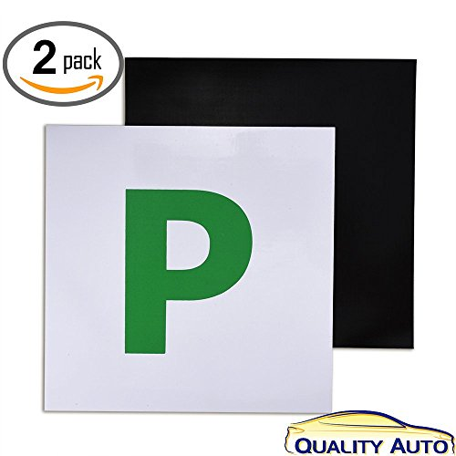 -fully-magnetic-p-plates-for-new-drivers-2-pack-quality-auto-by-vorfreuder-l-learner-plate-p-probati