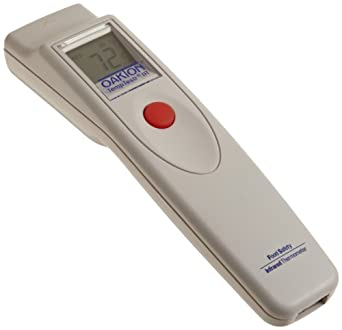 "Oakton WD-35625-15 Food TempTestr Mark-I IR Thermometer, -25 to 400°F, 7-1/4"" L x 1-3/4"" W x 1-1/2"" H"