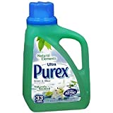 Purex Natural Elements Laundry Detergent Liquid, Linen & Lilies, 50 fl oz