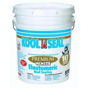 Kst Coatings Kst063600-20 Elastomeric Roof Coating, 5-Gallon front-155048