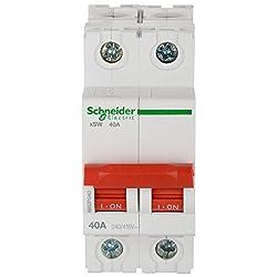 Schneider Acti 9 63-Amp 2-Pole MCB Isolator