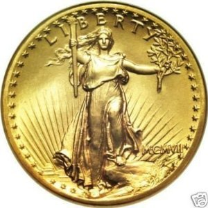 1 x Mini 1907 St. Gauden Gold Bullion Coin