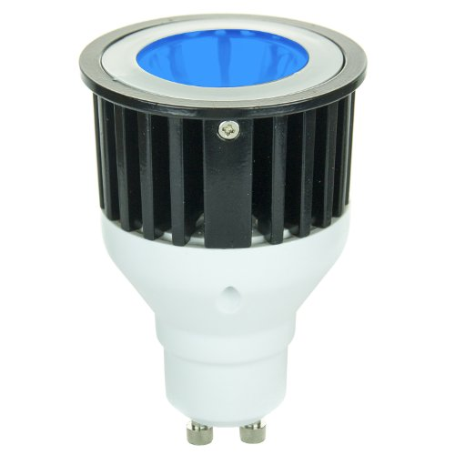 Sunlite 80212-Su Jdr/1Led/3W/Gu10/B Led 120-Volt 3-Watt Gu10 Based Mr16 Lamp, Blue