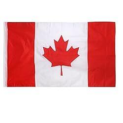 Generic Canada Canadian Flag Maple Leave Flag Big Banner 150*90CM / 5*3FT