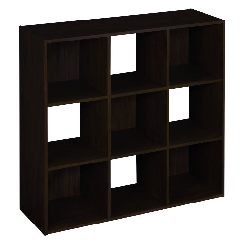 ClosetMaid 8937 Cubeicals 9-Cube Organizer, Espresso Storage and Organization Furniture