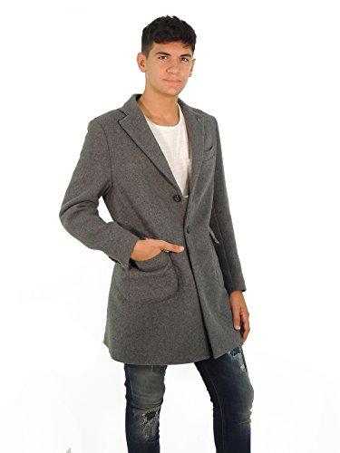 Barbati cappotto uomo monopetto CPTONY512 (52, GRIGIO SCURO)