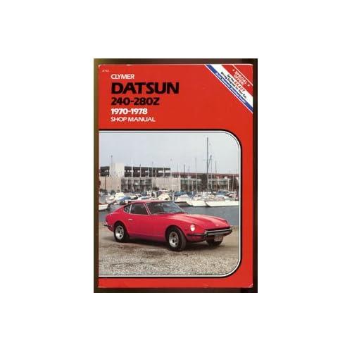 1975 nissan datsun 280z service manual