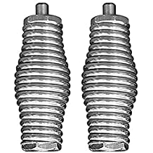LOT OF 2 WORKMAN KA-52SS STAINLESS STEEL BARREL SPRING ANTENNA MOUNTS FOR 102 WHIPS