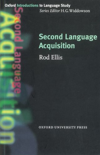 Second Language Acquisition (Oxford Introduction to...