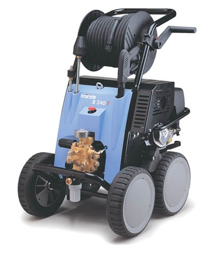 Kranzleusa B 270 T Cold Water Gas Industrial Pressure Washer With Auto-Idle And 65