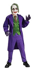 Batman The Dark Knight Deluxe The Joker Costume, Child's Medium