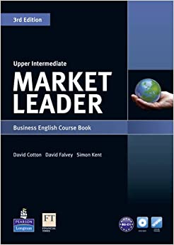 Market Leader 3rd Edition Upper Intermediate Course Book for Pack