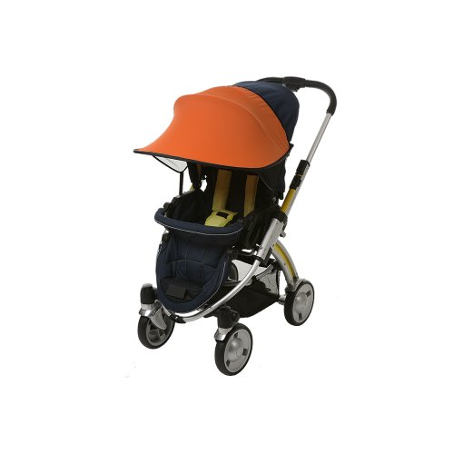 Manito Sun Shade for Strollers and Car Seats - Orange (7 Available Colors)