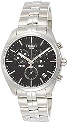 Tissot Men's PR 100 Chronograph Watch - Black