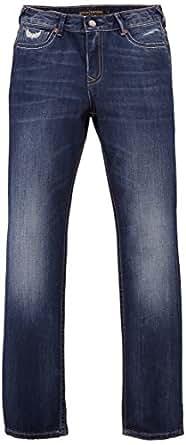 Kaporal - Albor - Jeans - Garçon -Bleu (Moos) - 10 Ans