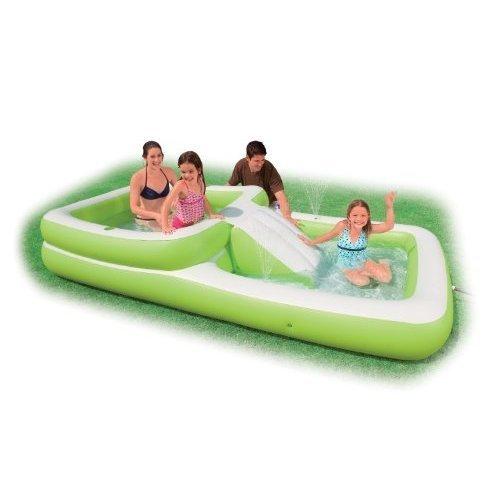 Intex Recreation Slide'N Fun Play Center, Age 6+ with Shelf Box