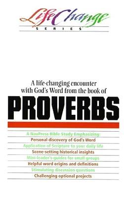 Proverbs, LifeChange Series