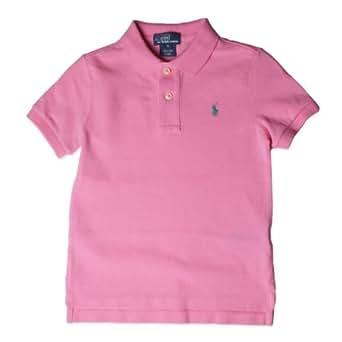 Polo ralph lauren baby boys short sleeve pique for Baby pink polo shirt