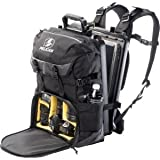 Pelican Products 0S1300-0003-110 Sport Elite Backpack for Camera/Laptop, Black
