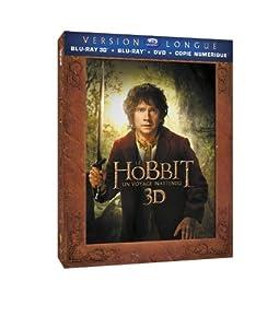Le Hobbit : Un voyage inattendu [Version longue - Blu-ray 3D + Blu-ray + DVD + Copie digitale]