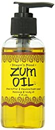 Indigo Wild Zum Massage Oil, Dragon\'s Blood, 4 Fluid Ounce
