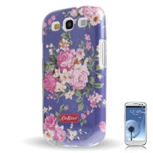 CATH KIDSTON FLOWER DESIGN PREMIUM QUALITY SNAP-ON HARD CASE COVER FOR SAMSUNG GALAXY S3