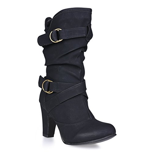 twisted s lillian wide width faux leather high