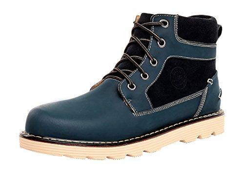 HTARCO Men's Winter Autumn Fashion Leather Male British Wind Brogue Shoes