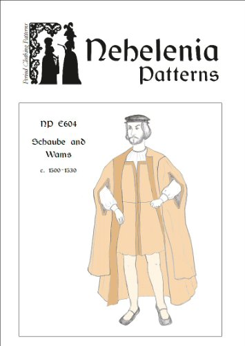 Men's Renaissance Schaube and Wams Pattern 1500-1530