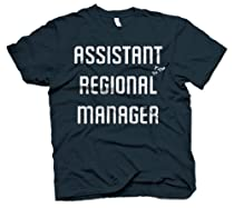 Assistant To The Regional Manager T Shirt Funny Office Tee S