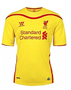 Official Liverpool FC S S Away Jersey 2014-2015 by Warrior
