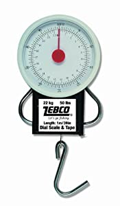 Zebco Spring Scales - White, 30 G from Zebco