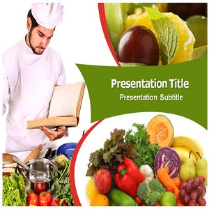 Recipe Book Powerpoint Templates Powerpoint PPT Template on Recipe Book